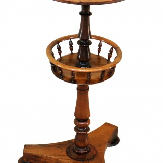 19th Century Regency Rosewood Circular Occasional Table