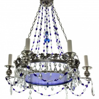 A 19TH CENTURY RUSSIAN CHANDELIER