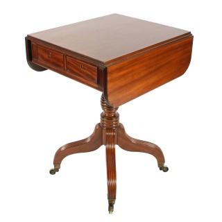 Georgian Mahogany Drop Leaf Table