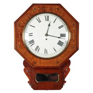 George IV Fusee Wall Clock