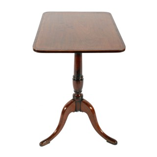 18th Century Tip Top Lamp Table