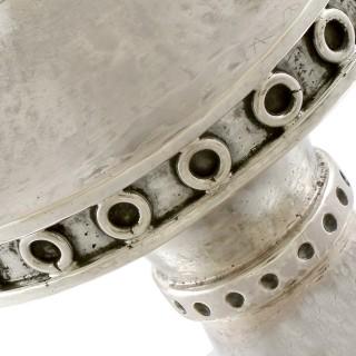Sterling Silver Ciborium - Arts & Crafts Style - Vintage Circa 1940