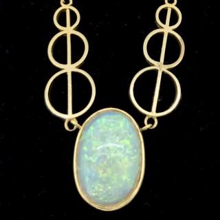 Antique Opal Pendant