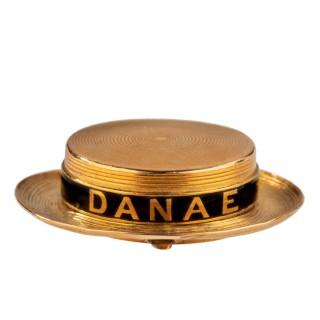 Admiral McGregor's HMS Danae vinaigrette locket, 1868