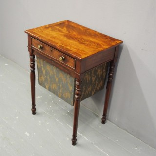 George III Mahogany Work Table