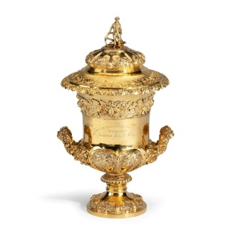 The silver gilt Southampton Ladies' Regatta Cup of 1828