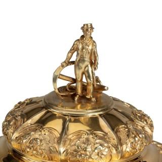 The silver gilt Southampton Ladies' Regatta Cup of 1828