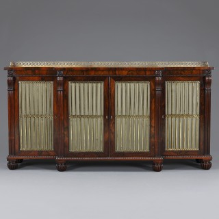 Regency period side cabinet