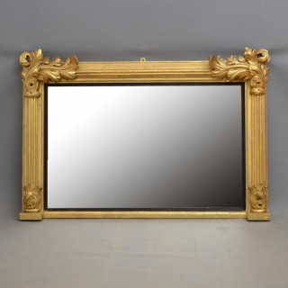 William IV Giltwood Mantel Mirror