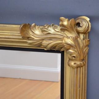 William IV Giltwood Mantel Mirror