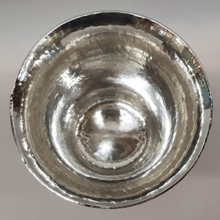 Arts and Crafts Silver Cup and Cover