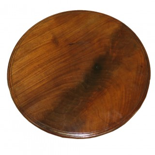 Rare 18th Century Mahogany Chippendale Period Antique Lazy Susan