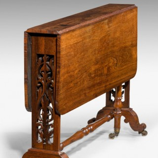 19th Century Rosewood Sutherland Table