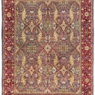 Antique Amritsar carpet