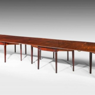 George III Period Banqueting Table