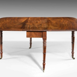 Regency Period Mahogany Supper Table