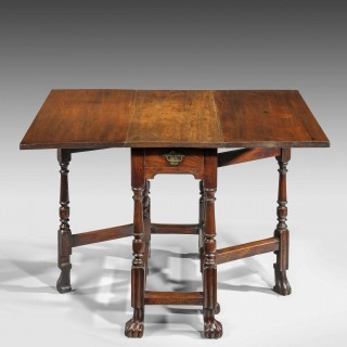 A Mid 18th Century Drop Leaf Table