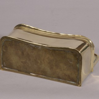 Antique 19th Century Brass Candle Box