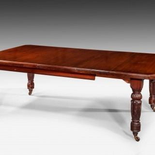 William IV Period Mahogany Dining Table