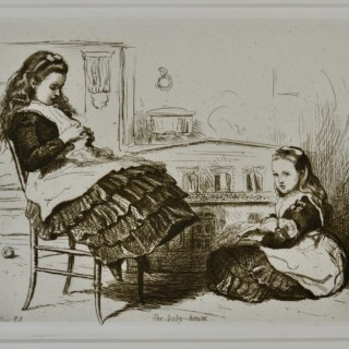 Sir John Everett Millais - The Baby House