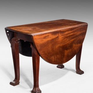 Late 18th Century Oval Drop Leaf Table