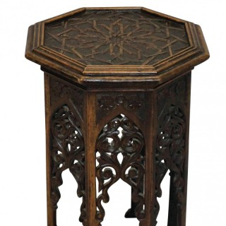 A 19TH CENTURY MOORISH TABLE