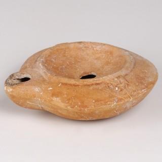 Roman Terracotta Oil Lamp