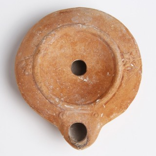 Roman Terracotta Oil Lamp