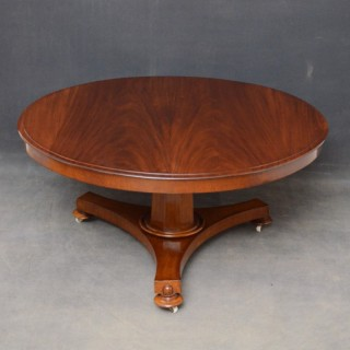Early Victorian Coffee Table in Mahogany