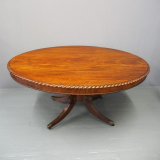 Scottish Oval Breakfast Table