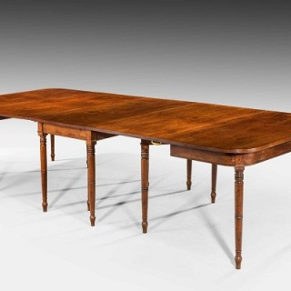 George III Period Mahogany Three Section Dining Tables