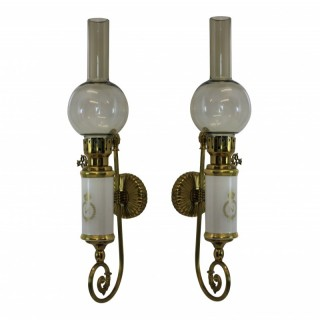A PAIR OF NAPOLEONIC SCONCES
