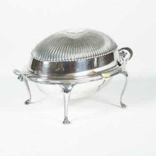 SILVER PLATED TUREEN BY MAPPIN & WEBB
