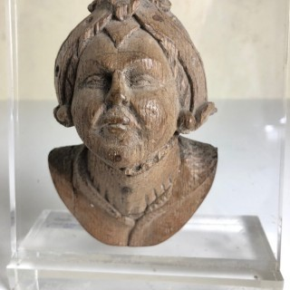 16th century Carving of Female Head