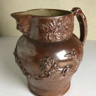 19th Century Stoneware Pot Chesterfield Area