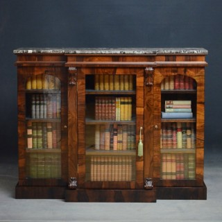 Exceptional William IV Rosewood Bookcase