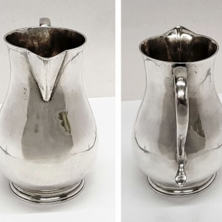George II Silver Cream Jug