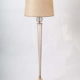 Documented mid century Maison Arlus floor lamp
