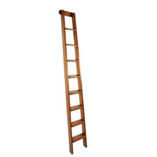 Victorian Oak Library Ladders
