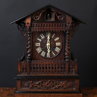 Victorian Mantel Cuckoo Clock