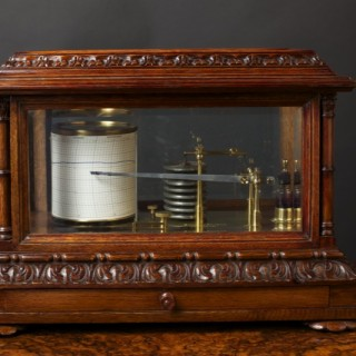 Victorian Barograph by Short & Mason, London