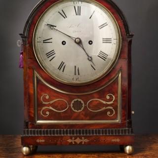 Regency English Bracket Clock by Joseph Cross, Ross