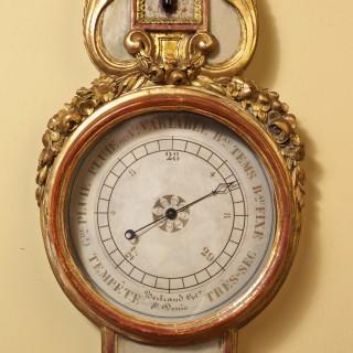 Louis XVI French Wheel Barometer