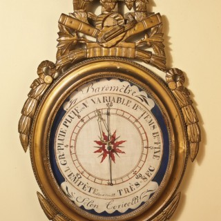 Louis XVI  French Mercury Barometer
