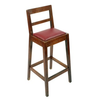 Oak Clerk's High Chair