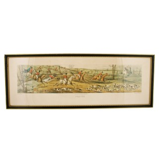 Set of four Hunting Prints
