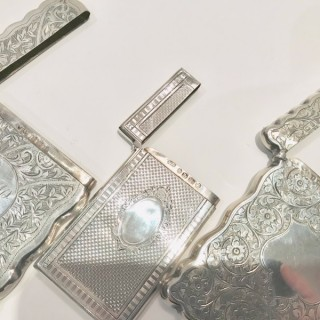 Antique Silver Card Cases