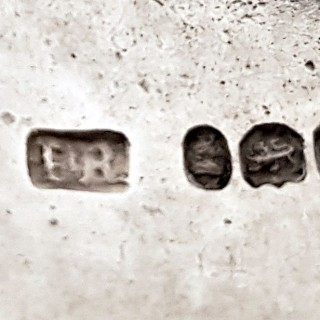 Antique Silver Wine Label