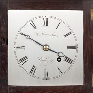 Georgian Miniature Bracket Clock by Watson & Son, Cambridge