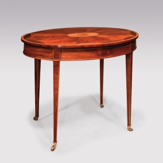 A late 18th Century Sheraton period mahogany Occasional Table